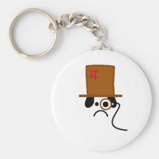 Merp Basic Round Button Keychain