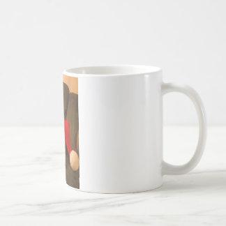 merra christmas santa hat coffee mug
