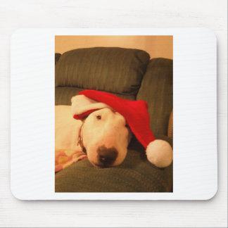 merra christmas santa hat mousepads