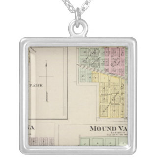 Merriam, Altamont, Montana, Mound Valley, Kansas Silver Plated Necklace