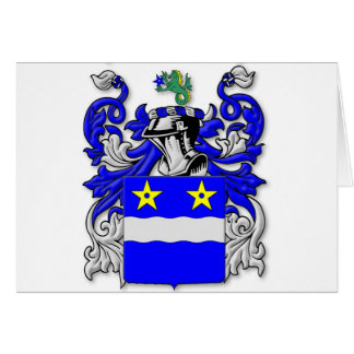 Merriam Coat of Arms Card