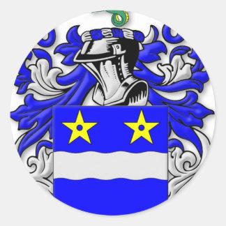 Merriam Coat of Arms Classic Round Sticker