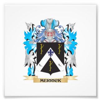 Merrick Coat of Arms - Family Crest Photo