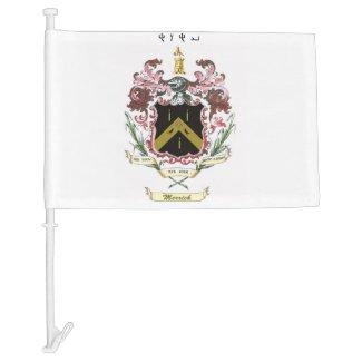 Merrick Crest Flag with Name of YHWH