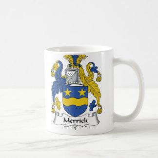 Merrick Family Crest Classic White Coffee Mug