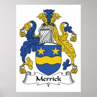 Merrick Family Crest Print