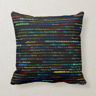 Merrick Text Design I Throw Pillow