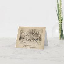 MERRIE CHRISTMAS Notecard