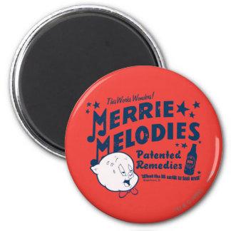 MERRIE gordinflón MELODIES™ remedia 2 Imán Redondo 5 Cm