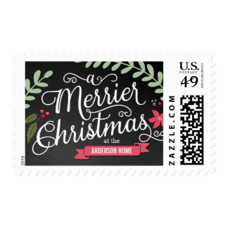 Merrier Christmas Baby First Christmas Postage