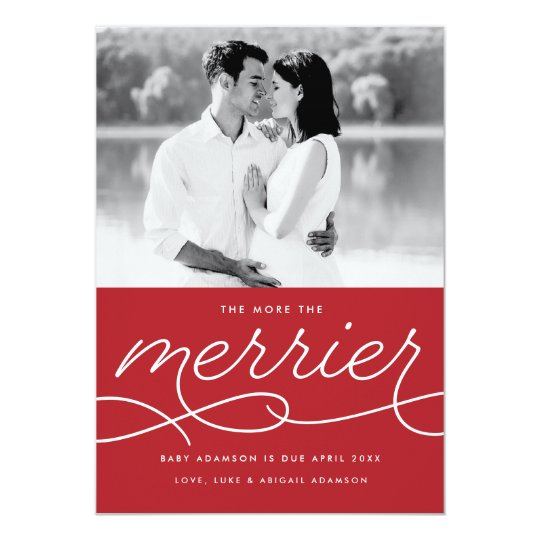 Beautiful Christmas Cards Baby Announcement