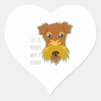 Merrier Terrier Sticker