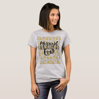 Merriest Christmas Ever Holiday Design T-Shirt