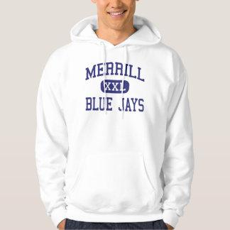 Merrill - Blue Jays - High - Merrill Wisconsin Hoodie