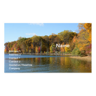 Merrill Creek Reservoir in Washington, New Jersey Double-Sided Standard Business Cards (Pack Of 100)