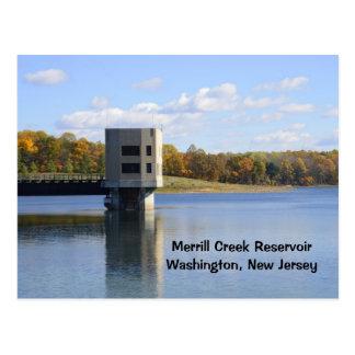 Merrill Creek Reservoir in Washington, New Jersey Postcard