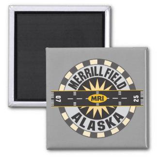 Merrill Field, AK MRI  Airport Fridge Magnets