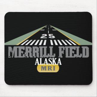 Merrill Field Alaska - Airport Runway Mouse Pad