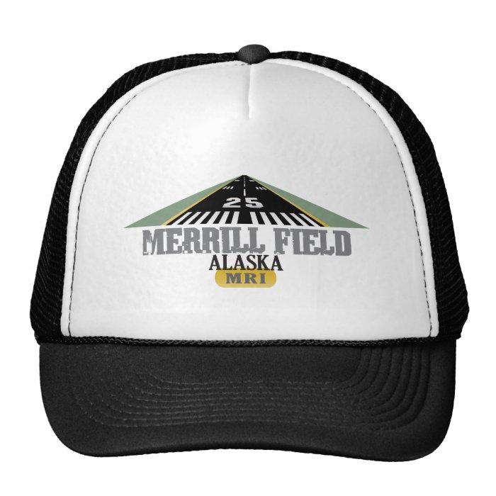 Merrill Field Alaska - Airport Runway Trucker Hat