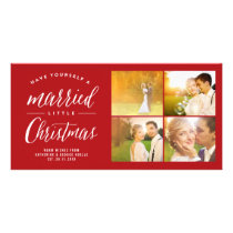 Merrily Ever After Christmas Photo Collage Card
