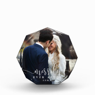 Merrily Ever After | Holiday Wedding Photo Block
