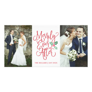 Merrily Ever After Wedding Holiday 2- Photo Card