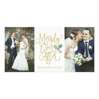 Merrily Ever After Wedding Holiday 2- Photo Gold Card