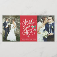 Merrily Ever After Wedding Holiday 2- Photo Red