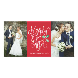 Merrily Ever After Wedding Holiday 2- Photo Red Card