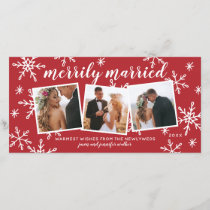 Merrily Married Snapshots Holiday Photo