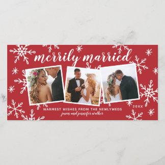 Merrily Married Snapshots Holiday Photo