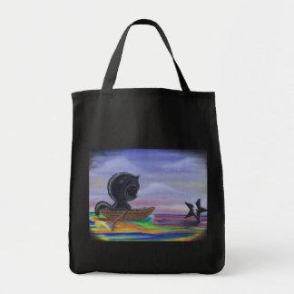 merrily merrily merrily tote bag