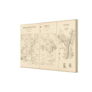Merrimack, Litchfield, Wilton, Peterborough PO Canvas Print
