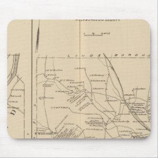 Merrimack, Litchfield, Wilton, Peterborough PO Mouse Pad