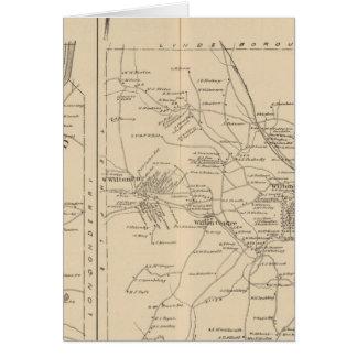 Merrimack, Litchfield, Wilton, Peterborough PO Tarjeta De Felicitación