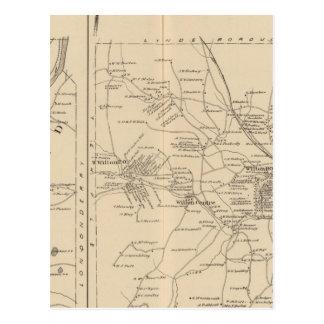 Merrimack, Litchfield, Wilton, Peterborough PO Tarjetas Postales