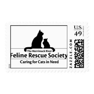 Merrimack River Feline Rescue Society Stamps
