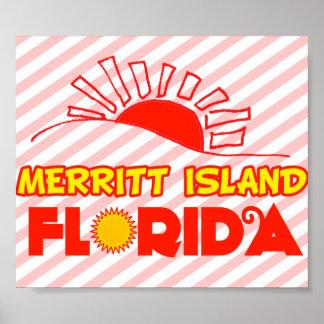 Merritt Island, Florida Poster