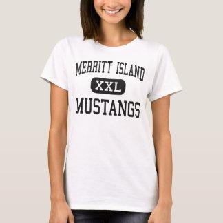 Merritt Island - Mustangs - High - Merritt Island T-Shirt