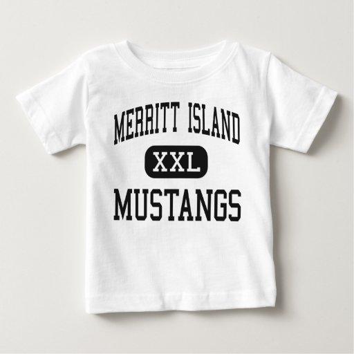 Merritt Island - Mustangs - High - Merritt Island T Shirts