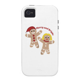 Merry And Bright iPhone 4 Cover