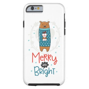 Merry and Bright Tough iPhone 6 Case