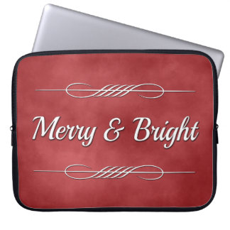 Merry and Bright Computer Sleeve