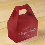 Merry and Bright Favor Box