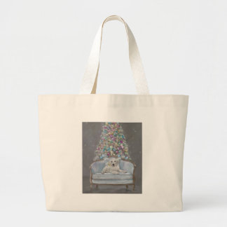 Merry and Bright Large Tote Bag
