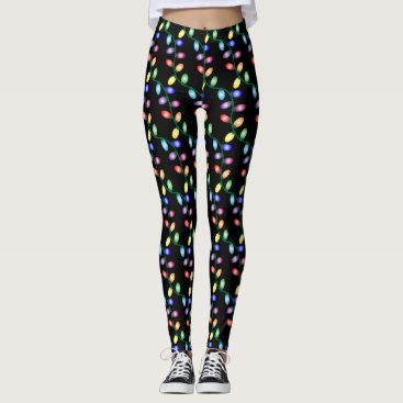 Christmas Themed Merry and Bright Leggings