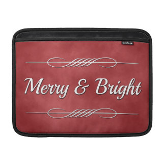 Merry and Bright MacBook Sleeve