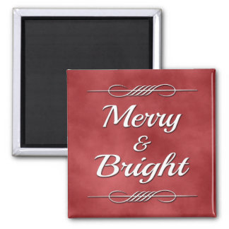 Merry and Bright Magnet
