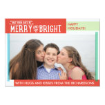 Merry and Bright Personalized Announcement