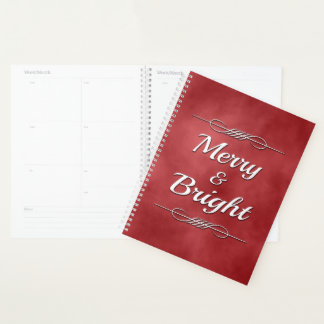 Merry and Bright Planner